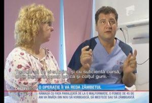 O femeie îşi va recăpăta zâmbetul pierdut de 10 ani cu o operaţie delicată